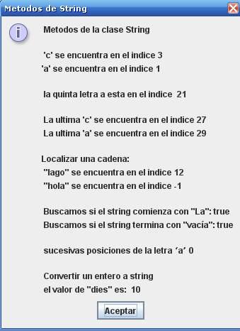 Cadenas y caracteres en Java [tutorial]